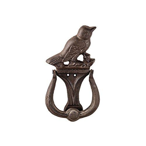 Prinz 4.5 X 1.25 X 8.25 Inch Cast Iron Bird Door Knocker In Antique Brown Finish (Door Knocker Bird)