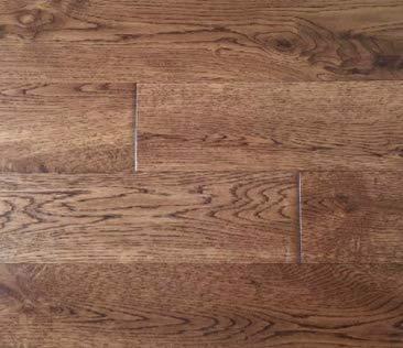 - Prefinished Handscraped Solid Hardwood White American Oak Wood Flooring. (Golden Coast)