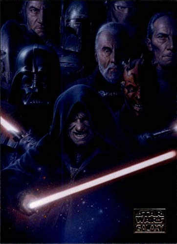 2018 Topps Star Wars Galaxy Non Sport Trading Card #65 Galaxy of Evil Emeror Palpatine, Darth Vader, Maul, Sidious, Coun Official Collectible Entertai