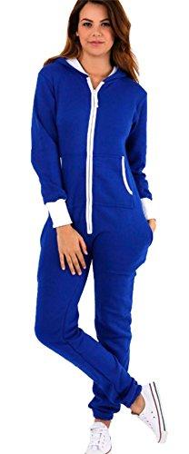 Vanilla Inc - Pijama de una pieza - para mujer azul real