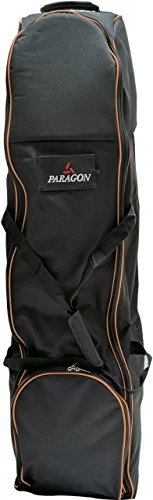 Paragon Golf Travel Cover Bag, Porter, With Wheels, Black by Paragon