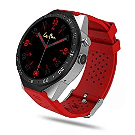 Le Pan Pro Smart Watch, 1.39″ AMOLED Round HD Display Quad Core 2.0MP Camera Bluetooth GPS WiFi App Download Heart Rate Monitor MSG Notification Built-in Speaker Microphone USB Charging