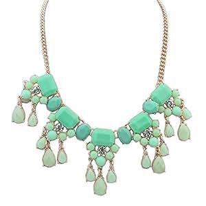 Rui Collar de moda-Green