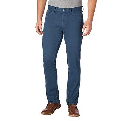 Calvin Klein Men's Slim Straight Cotton Twill Jeans