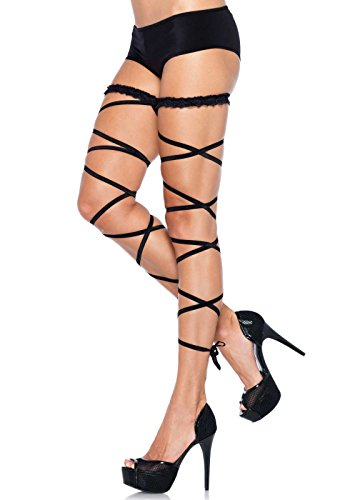 Leg Avenue Women's Garter Leg Wrap Set,  - Leg Avenue Nylon Garter Shopping Results