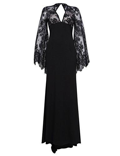 Buy long sleeve empire waist cocktail dress - 3