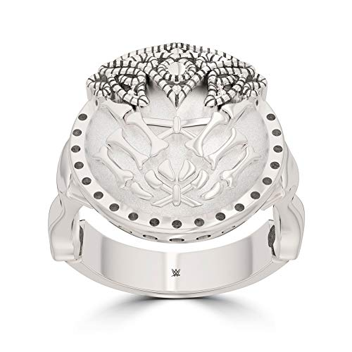 WWE Alexa Bliss Stackable Ring in Sterling Silver -
