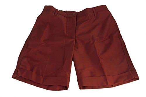 Micro Twill Mens Golf Short (J. Linderberg Men's Parisa Micro Twill Golf Shorts SZ 27 Red Deep)