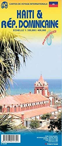 Dominican Republic 1:400,000 & Haiti 1:350,000 Travel Map (International Travel Maps)