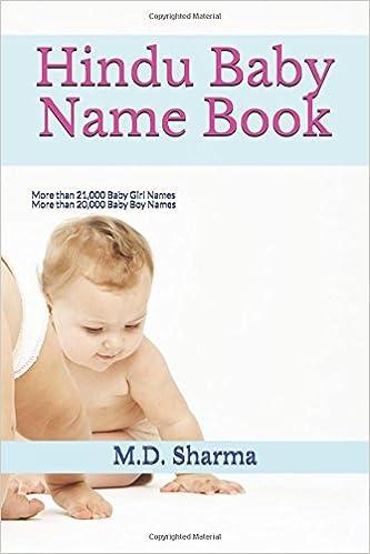Hindu Baby Name Book More Than 21000 Girl Names 20000 Boy