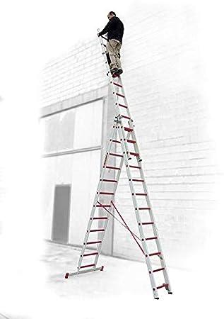 ESCALERA PROFESIONAL 8+8+8 PELDAÑOS 3TFV.250 FARAONE. LCS: Amazon.es: Bricolaje y herramientas