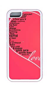 Love Cartoon Easter Thanksgiving Personlized Masterpiece Limited Design TPU White Case for iphone 5/5s iphone 5/5s by Cases & Mousepads