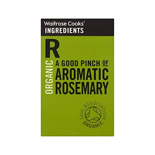 Cooks' Ingredients Organic Rosemary Waitrose 28g - Pack of 6 by Cooks' Ingredients