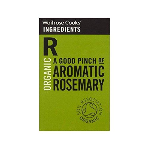 Cooks' Ingredients Organic Rosemary Waitrose 28g - Pack of 6