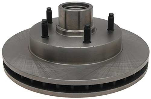 ACDelco 18A652A Advantage Non-Coated Front Disc Brake Rotor and Hub Assembly