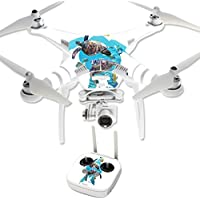 Skin For DJI Phantom 3 Professional – Turtly Cool   MightySkins Protective, Durable, and Unique Vinyl Decal wrap cover   Easy To Apply, Remove, and Change Styles   Made in the USA