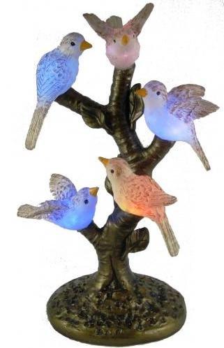 Birds Tiffany Table Lamp - 9