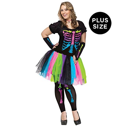 Funky Punk Bones Plus Size Costume]()