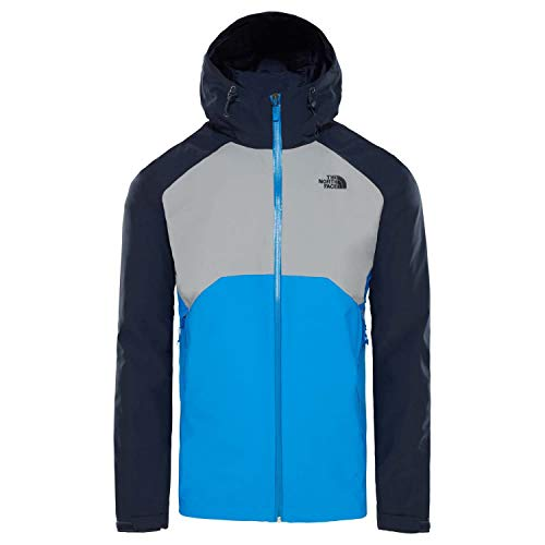 Bomberble Face Uomo midgrey Stratos North Giacca urbnavy The 8xqgTg