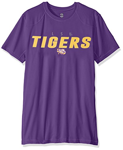 NCAA Lsu Tigers Men's Official T-shirt, Medium, Purple