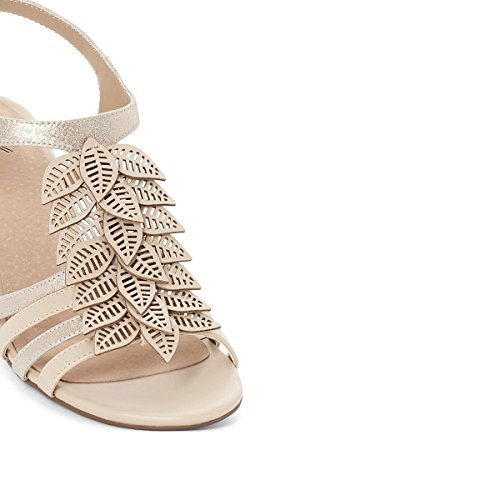 Redoute Beige Strappy Sandals La Womens 6nIdqxUxvH