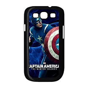 C-EUR Phone Case Captain America 2 Hard Back Case Cover For Samsung Galaxy S3 I9300