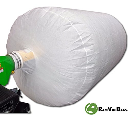 20 INSULATION REMOVAL VACUUM BAGS HEAVY DUTY 6' x 4' Hold 350 LBS / 75 cf - 2 FREE Coverall Suits Included. PRO-350 by - Poly 6' Bag