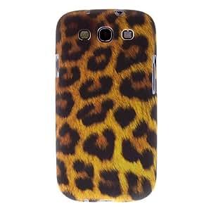 Estampado leopardo Caso duro del patrón para Samsung Galaxy S3 I9300