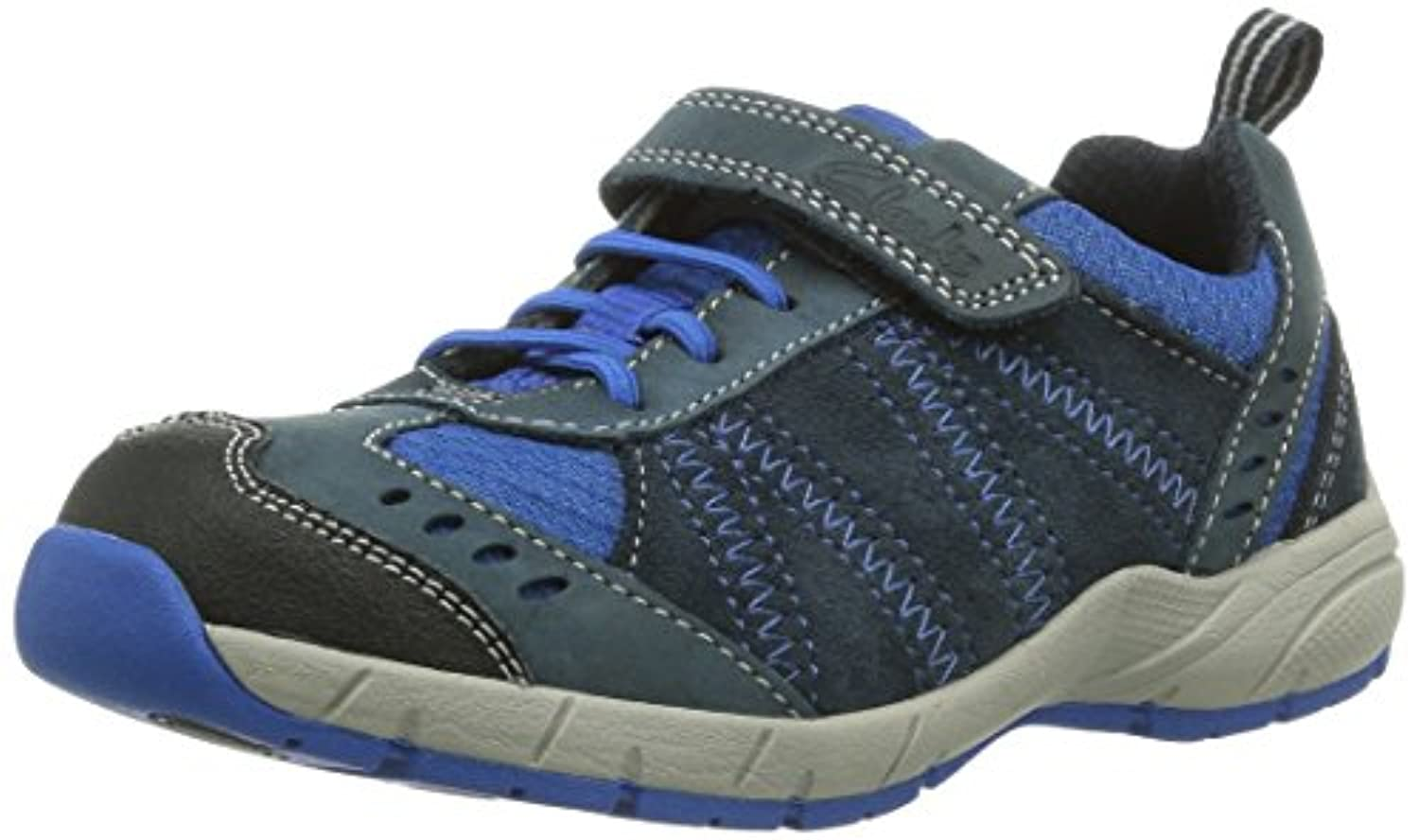 Clarks Rampart Up Gtx, Men's Ankle Boots, Bleu - Blau (Navy Leather), 11.5 UK Child