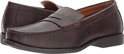 Izod Shoes (IZOD Men's Edmund Loafer, Brown, 10.5 Medium US)