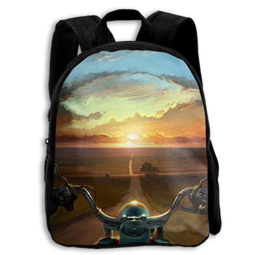 (Crazy Popo Baby Child Motorcycles Pre School Backpack School Bag)