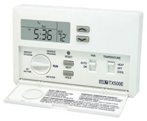 Lux Smart Temp TX500 Programmable Thermostat