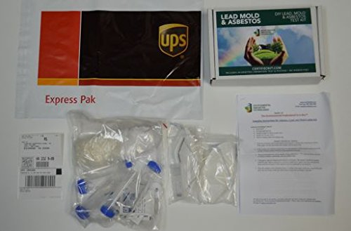 EIT- Lead, Mold, and Asbestos Testing Kit - Includes lab testing and prepaid shipping to lab
