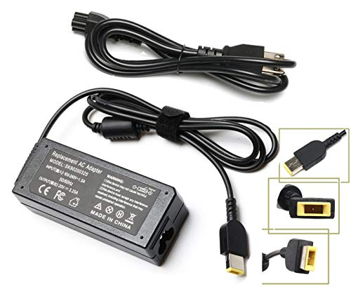 3.25A 65W Laptop Ac Adapter Charger for Lenovo IdeaPad Yoga 2 11 11s 13 2 Pro13 13-2191 2191-2XU 2191-33U 59370520 59370528; Flex 2 15 15D 14 10 G40 G50 0B47455; IdeaPad S210 U430 U530 Power Cord (Lenovo Yoga 2 11 Model 20428 Specs)