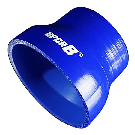 to 3.0 45MM , Black Upgr8 Universal 4-Ply High Performance Straight Reducer Coupler Silicone Hose 1.75 76MM
