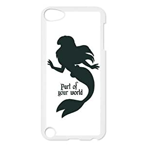 Protective Snap-on Hard Back Case Cover for iPod Touch 5 5th Gen - Mermaid