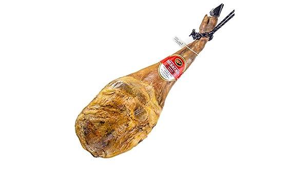 Jamón Ibérico de Cebo (Paleta). 68,90€. ENTREGA 24-72 HORAS. 4,5-5kg aproximadamente. Salamanca, Paletilla. Jamones y Embutidos Herrero.: Amazon.es: Alimentación y bebidas