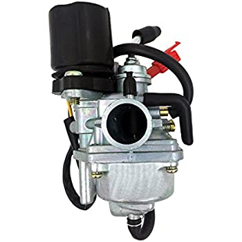 GOOFIT PZ19 Carburetor For 2 Stroke 50cc 90cc Yamaha Jog ATV Scooter With Electric Choke