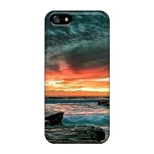 Defender Case For Iphone 5/5s, Turrametta Beach Australia Pattern