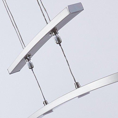 Dimmbare Und Höhenverstellbare LED Pendelleuchte Laura 24 Watt 2200 Lumen  3000 Kelvin Warmweiss: Amazon.de: Beleuchtung