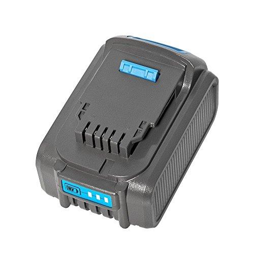 LiBatter 20V MAX 6.0Ah Lithium Ion Premium Battery Compatible with DEWALT DCB204 DCB205 DCB206 DCB205-2 DCB200 DCB180 DCD985B DCD771C2 DCS355D1 DCD790B (1 pack)