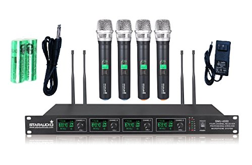 staraudio-pro-4-channel-dj-uhf-ktv-pa-stage-church-karaoke-wireless-handheld-microphone-system-smu-4