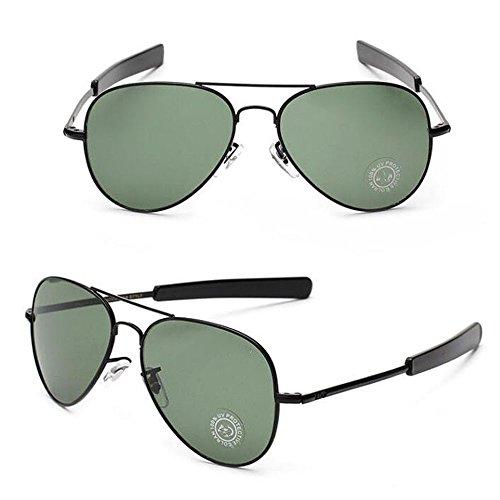 Militaire armée en miroir lunettes de soleil aviateur lXwqt8