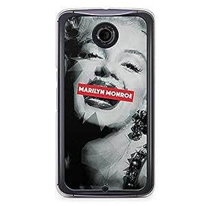 Marilyn Monroe Nexus 6 Transparent Edge Case - Heroes Collection