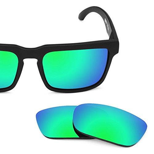 Vert Verres Rechange Pour Plusieurs — Options MirrorshieldPolarisés Spy Emeraude Optic De Helm kO8PXn0w