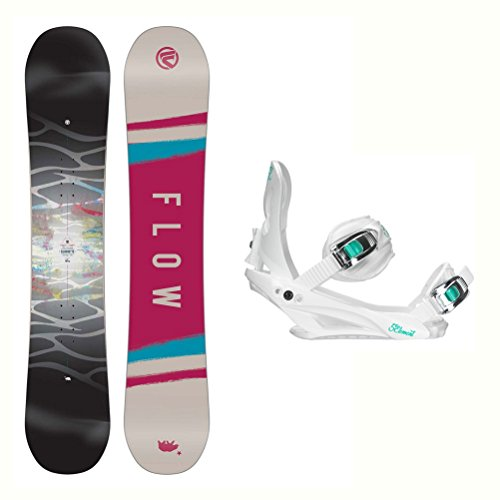 a Womens Snowboard and Binding Package 2018 - 140cm/Medium-Large ()