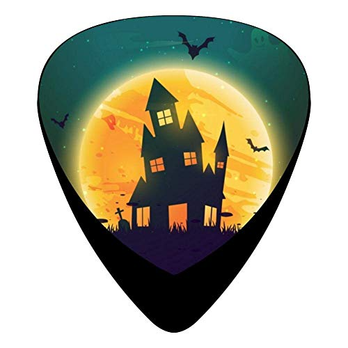 House On Halloween Celluloid Electric Guitar Picks 12-pack -