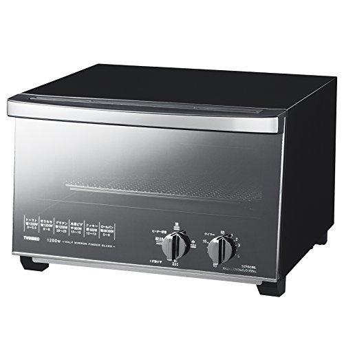 TWINBIRD mirror glass oven toaster black TS-D047B [並行輸入品]   B01K1YEVN6