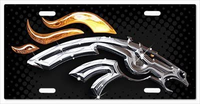 The Run v06 Vanity License Plate Denver Broncos