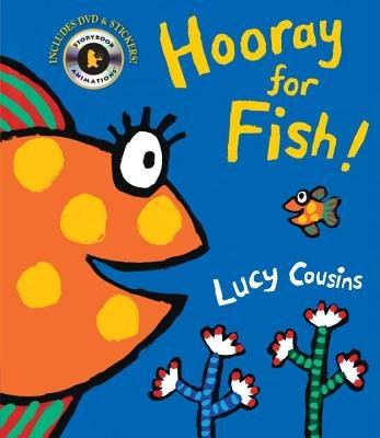 Hooray for Fish! [With DVD][STICKER BK-HOORAY FOR FI-W/DVD][Paperback]